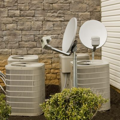 Air Conditioning Compressors and Satellite Dishes